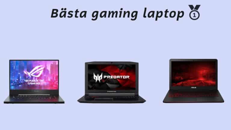 bästa gaming laptop